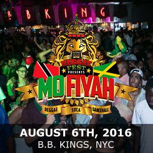 August 6th, 2016 – B.B Kings NYC